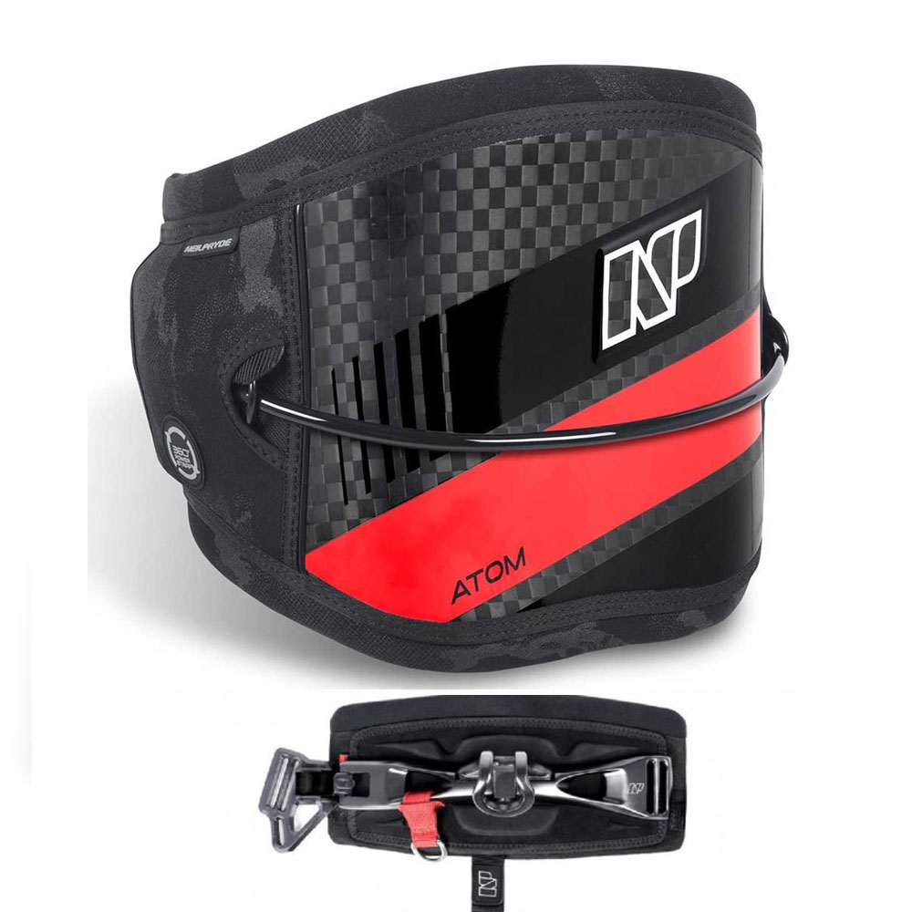 ATOM KITE CARBON RED